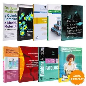 REF.10316 - Coleção de livros Farmácia