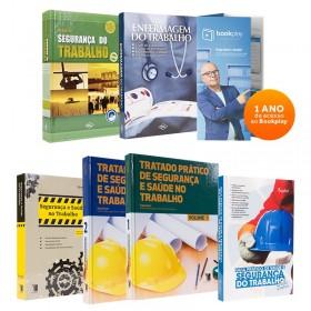 REF.10697 - Coleção de Livros Segurança do Trabalho