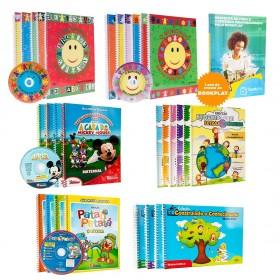 REF.10712 - Coleção de Livros Pedagogia Infantil