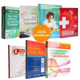 REF.10772 - Coleção de Livros Enfermagem