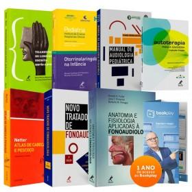 REF.10776 - Coleção de Livros Fonoaudiologia