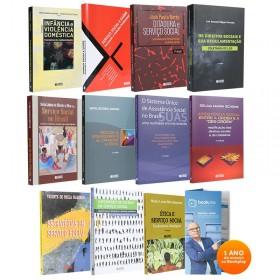 REF.10778 - Coleção de Livros Serviço Social