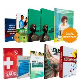 REF.10863 - Coleção de Livros Técnico de Enfermagem