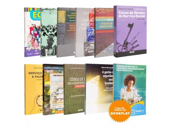 REF.11316 - Coleção de Livros Serviço Social
