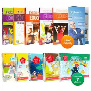 REF.11583 - Coleção de Livros Pedagogia Infantil