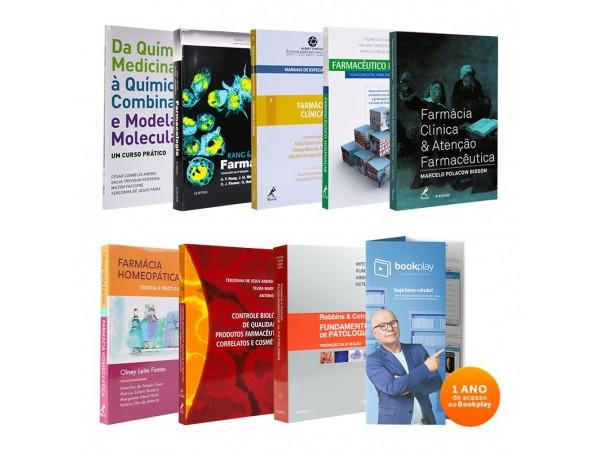 REF.11584 - Coleção de Livros Farmácia