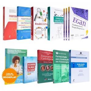 REF.11627 - Coleção de Livros Fisioterapia