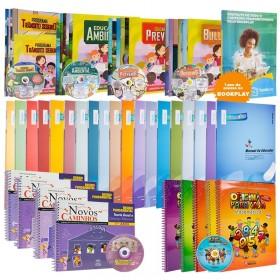 REF.11751 - Coleção de Livros Pedagogia Fundamental I
