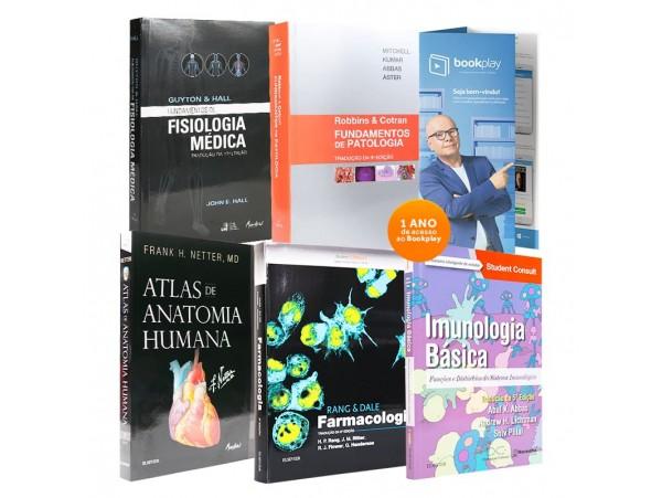 REF.11871 - Coleção de Livros Medicina - Ciências Básicas da Saúde.