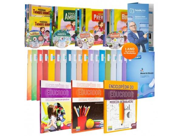 REF.11980 - Coleção de Livros Pedagogia Fundamental I
