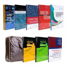 REF.14691 - Coleção de Livros Engenharia da Produção