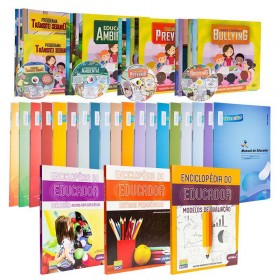 REF.14701 - Coleção de Livros Pedagogia Fundamental I