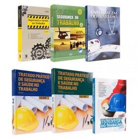 REF.14706 - Coleção de Livros Segurança do Trabalho