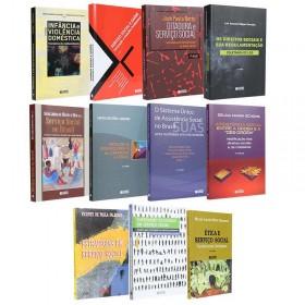 REF.14707 - Coleção de Livros Serviço Social