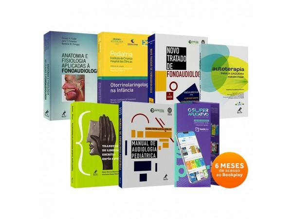 REF.23673 - Coleção de Livros Fonoaudiologia