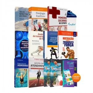REF.24985 - Coleção de Livros Educação Física / Bacharel