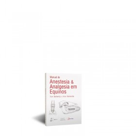 REF.3444 - Manual de Anestesia &Analgesia em Equinos