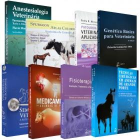 REF.4852 - Coleção de Livros Veterinária Grande Porte
