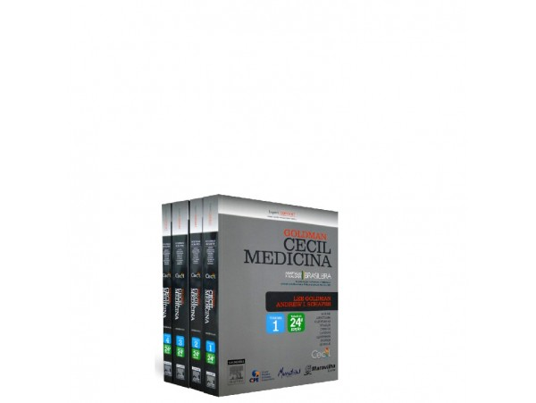 REF.5022 - Goldman Cecil Medicina 24ª Edição