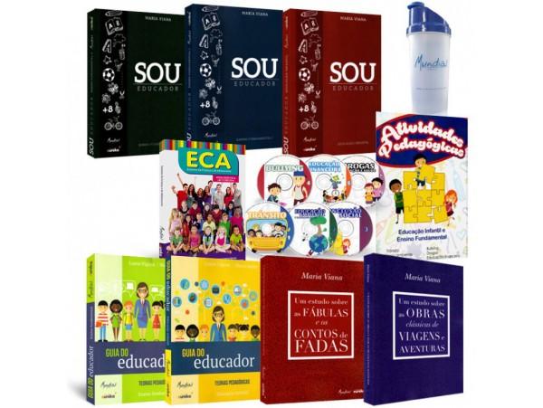 REF.5629 - Coleção de Livros Pedagogia - Sou Educador