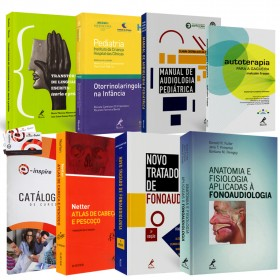 REF.5690 - Coleção de Livros Fonoaudiologia