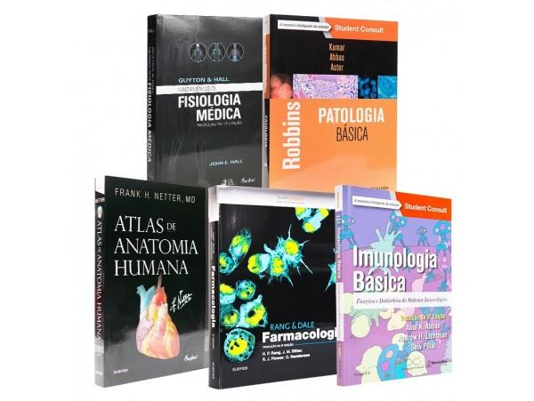 REF.5733 - Coleção de Livros Medicina - Ciências Básicas da Saúde.