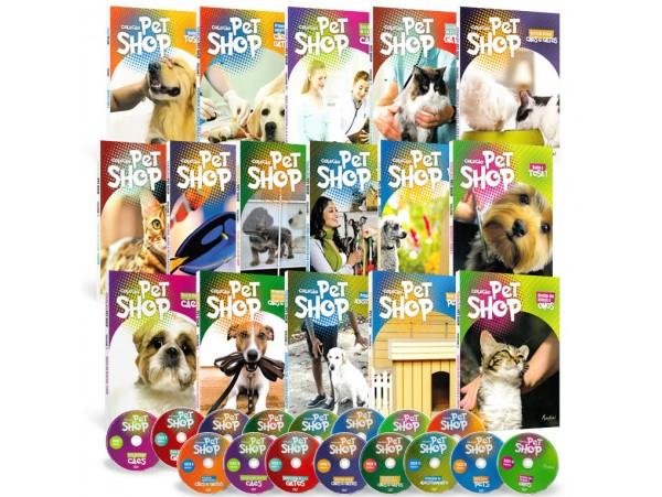 REF.5749 - Coleção de Livros Pet Shop