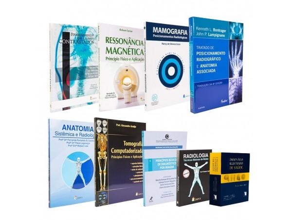 REF.5792 - Coleção de Livros Radiologia