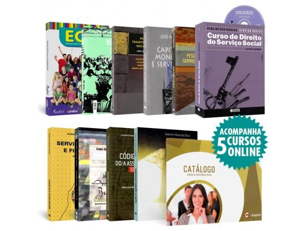 REF.5844 - Coleção de Livros Serviço Social
