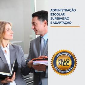 REF.5874 - Pós-Graduação em Administração Escolar, Supervisão e Orientação