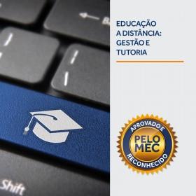 REF.5883 - Pós-Graduação em Educação a Distância: Gestão e Tutoria