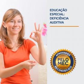 REF.5886 - Pós-Graduação em Educação Especial: Deficiência Auditiva