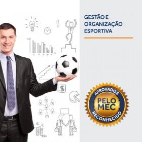 REF.5895 - Pós-Graduação em Gestão e Organização Esportiva