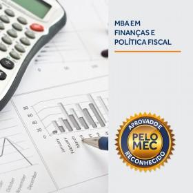 REF.5904 - MBA em Finanças e Politica Fiscal