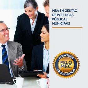 REF.5906 - MBA em Gestão e Políticas Públicas Municipais