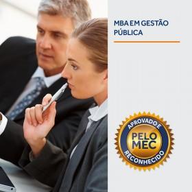 REF.5908 - MBA em Gestão Pública