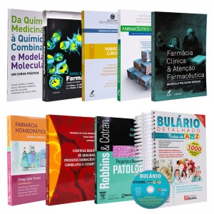 REF.6138 - Coleção de Livros Farmácia