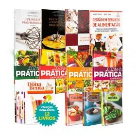 REF.6739 - Coleção de Livros Gastronomia.