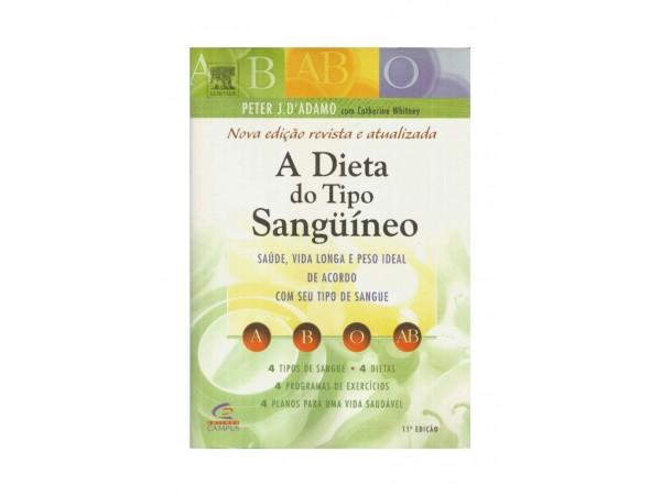 REF.6788 - A DIETA DO TIPO SANGUINEO