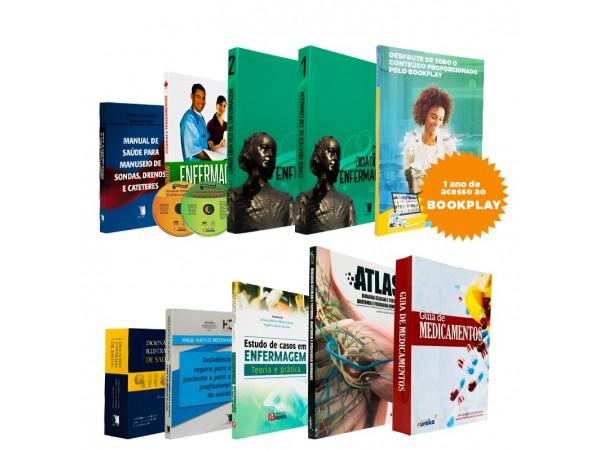 REF.7024 - Coleção de Livros Técnico de Enfermagem