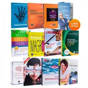 REF.7875 - Coleção de livros Psicologia