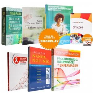 REF.8512 - Coleção de Livros Enfermagem
