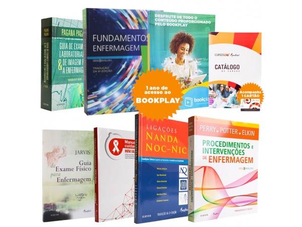 REF.8513 - Coleção de Livros Enfermagem / Fundamentos Potter