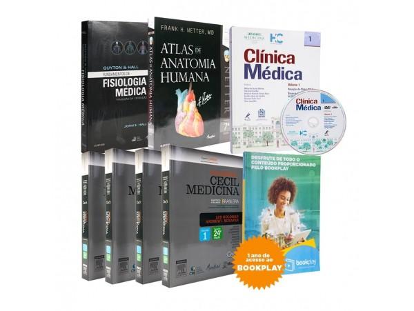 REF.8726 - Coleção de Livros Medicina A4