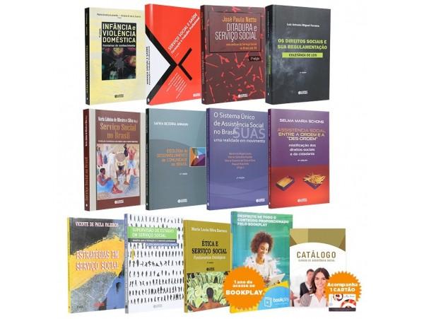 REF.9755 - Coleção de Livros Serviço Social